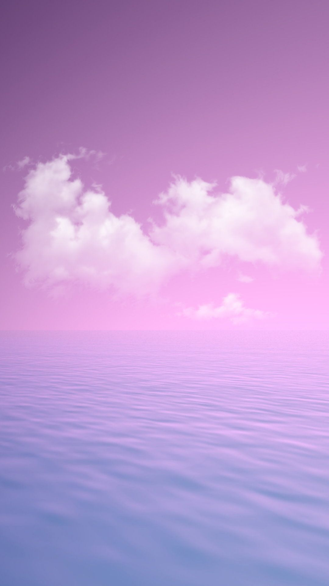 Sky Purple Blue Cloud Violet Pink Cute In 2019 Iphone