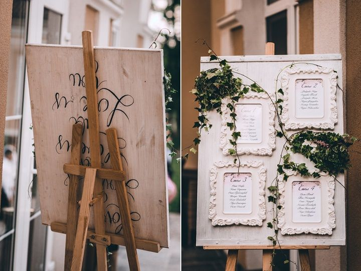 Wedding Seating plan on picture frames | fabmood.com #wedding #blushwedding #weddinginspiration #realwedding #weddingstyle