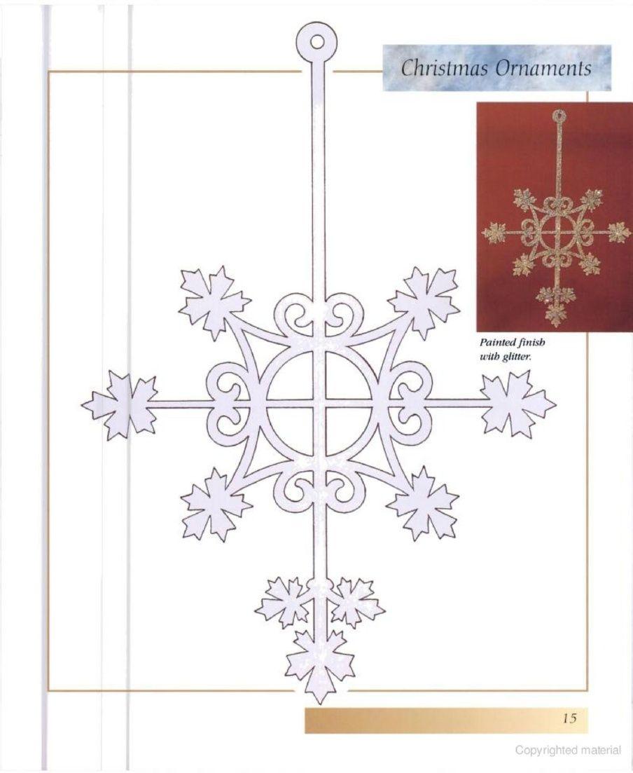 Decorative ornamental scroll saw patterns filigrany wycinanki