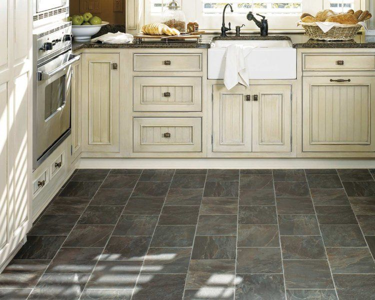 Vinyl Kitchen Flooring Part - 23: Milford Flooring Offers Kitchen Flooring Such As Cork, Vinyl, Hardwood, And  Tile.