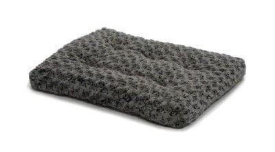 "DOG BEDS & LOUNGERS - OMBRE SWIRL BED - 18"" X 12"" - GREY - MIDWEST METAL PRODUCTS CO., - UPC: 27773014300 - DEPT: DOG PRODUCTS"