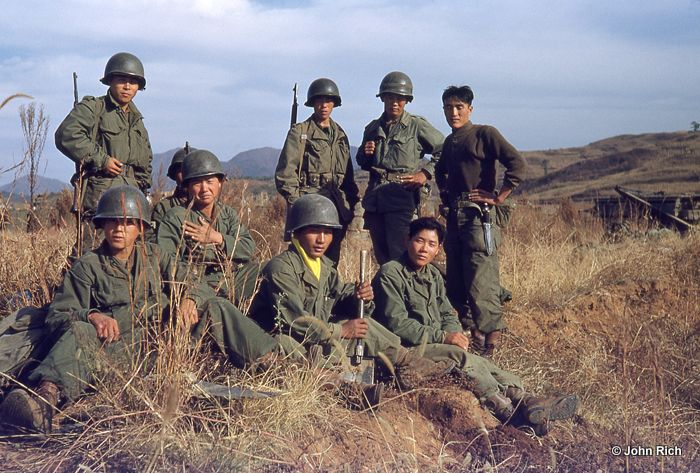 South Korean troops eventually became the backbone of the ...