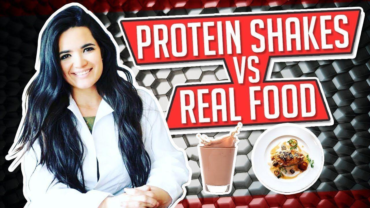 shake ohne soja PROTEIN SHAKES VS REAL FOOD  Gauge Girl Training