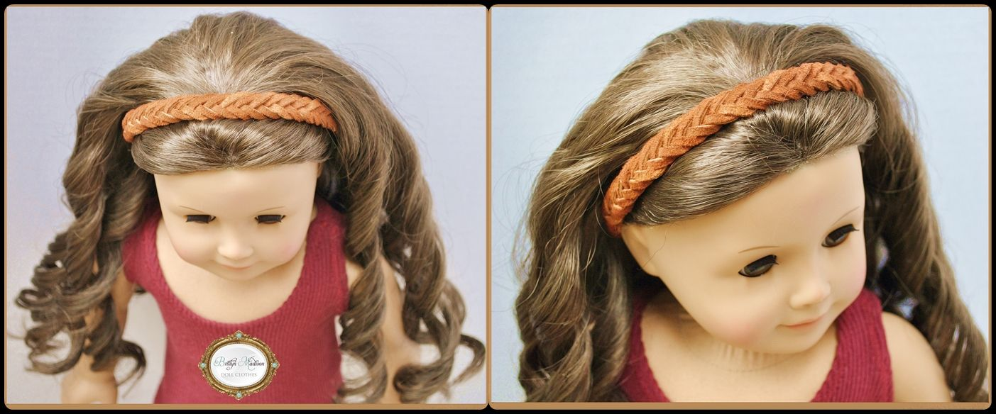 Ag Hair Styles: Hand-woven Thick Suede Headband
