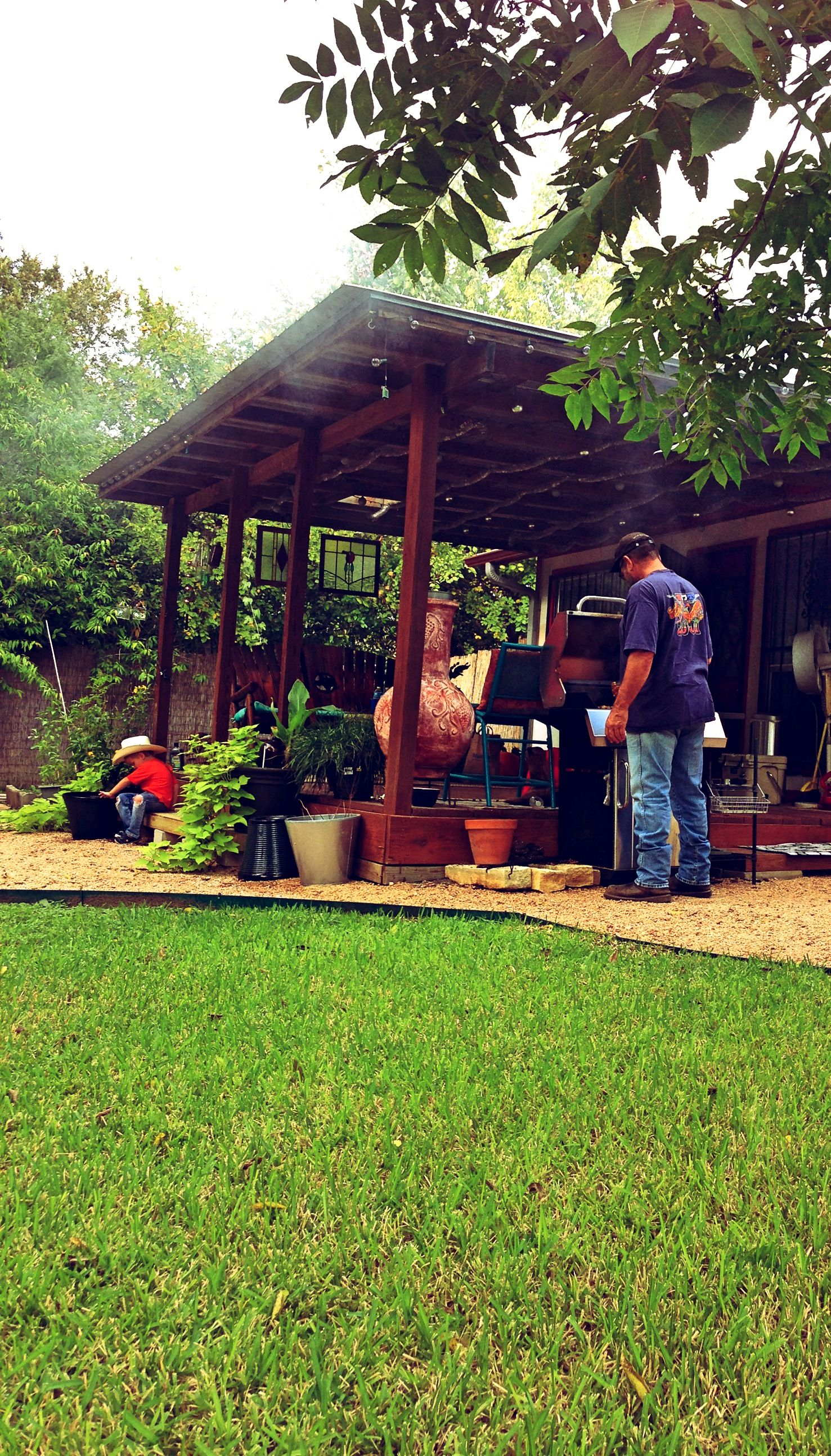 My backyard in Austin, TX (With images) | Outdoor living ...
