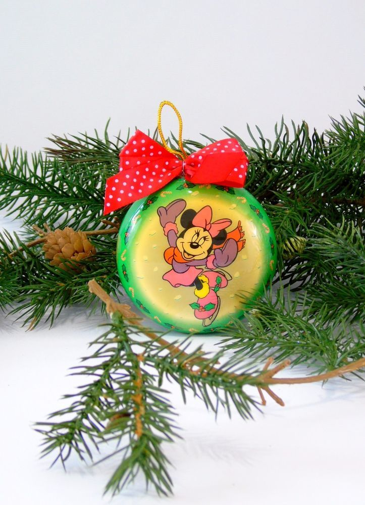 #Disney #DisneyChristmas Ornament #minniemouse Vintage 1996 https://t.co/766wA6cGKc https://t.co/wZW9mhZdiT