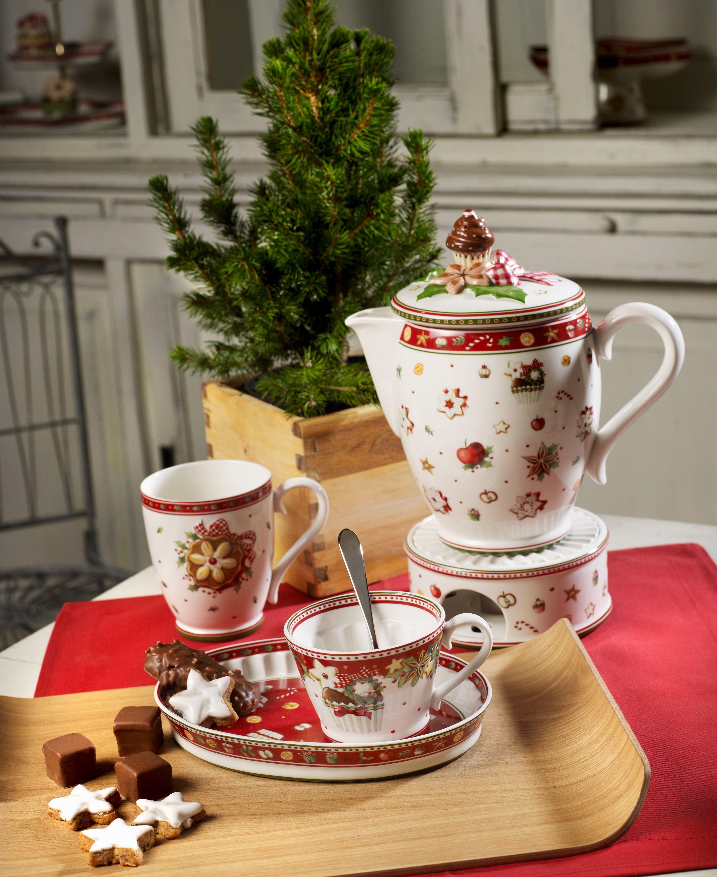 Bakery Delight - doplněná kolekce vánočního kávového a čajového servisu