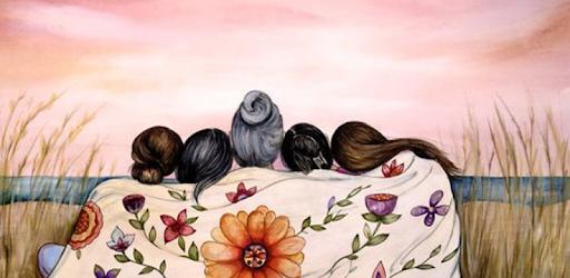نسخة جديدة من تطبيق خلفيات جيرلي للبنات 2020 يضم مجموعة جميلة من صور و رمزيات أحلى بنات كدلك صور و رمزيات بنات كيوت رمزيات حب رمزيات صداقة و رمزي Painting Art