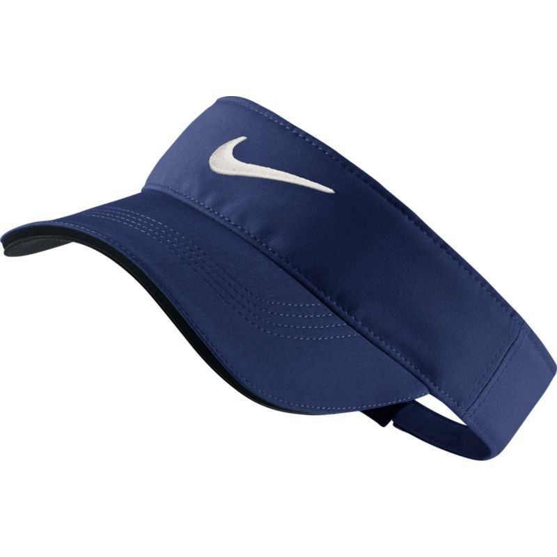 Nike tech tour golf visor mens blue nike tech golf