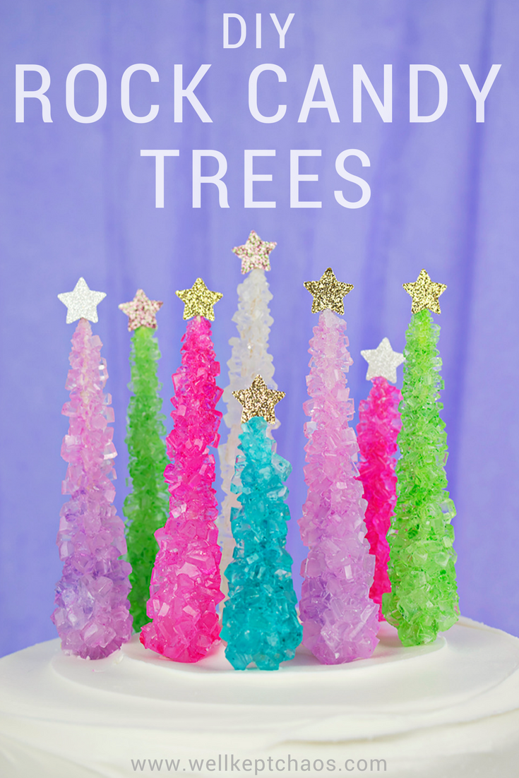 Rock candy christmas tree cake topper party candy rock candy lucky for you this tutorial is as gorgeous as it is easy click to see the full tutorial for these rock candy christmas baditri Images
