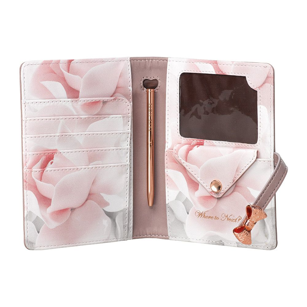 cdb86c20041a09 Travel in style with this Travel Document Holder from Ted Baker. With space  to hold a passport