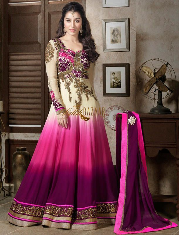 indian long dress suits - Google Search | Hijab | Pinterest | Long ...