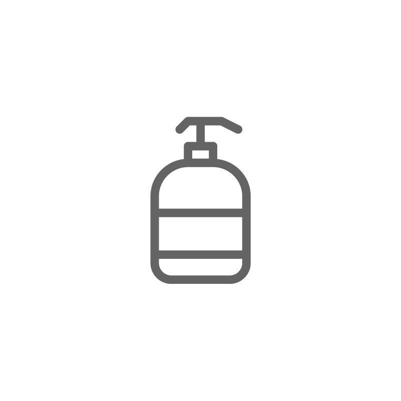 Beauty Spa Line By Deemak Daksina Hand Sanitizer Icon