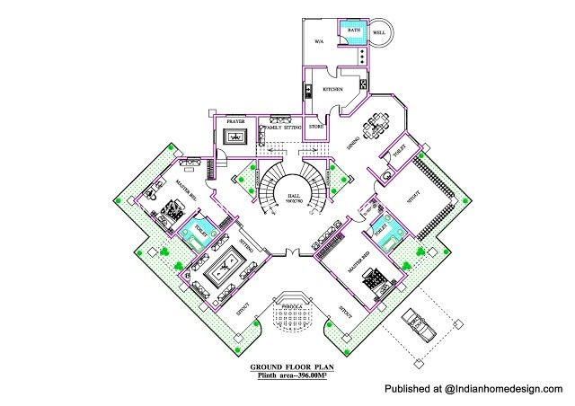 Villa Design Plans | Projects to Try | Pinterest | Villa design ...