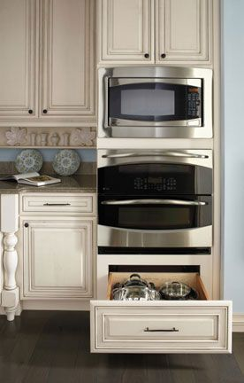 Double Oven Cabinet Cabinet Options Custom Kitchen