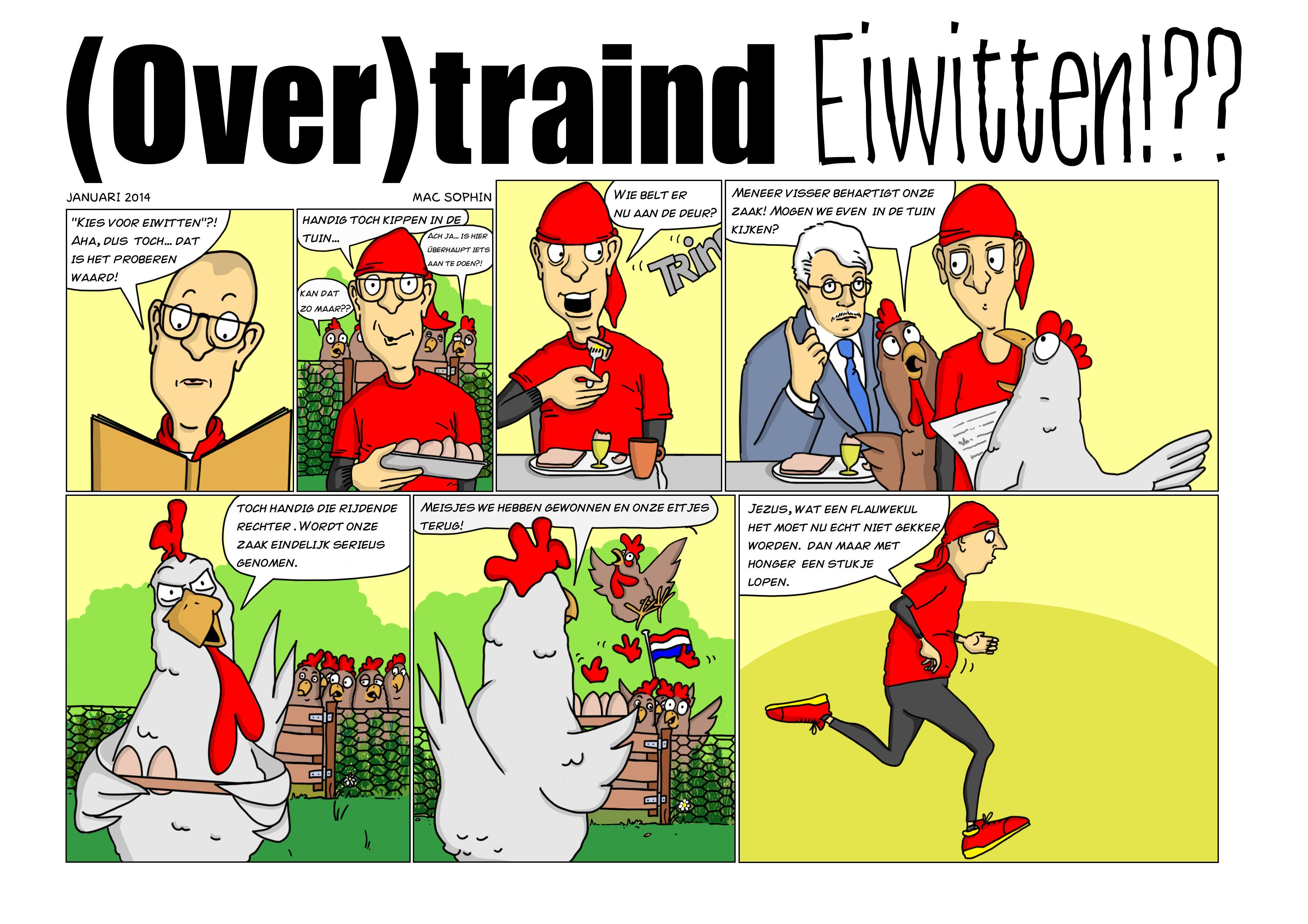eiwitten afvallen