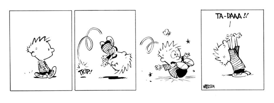 That's the spirit! #Calvin #Hobbes