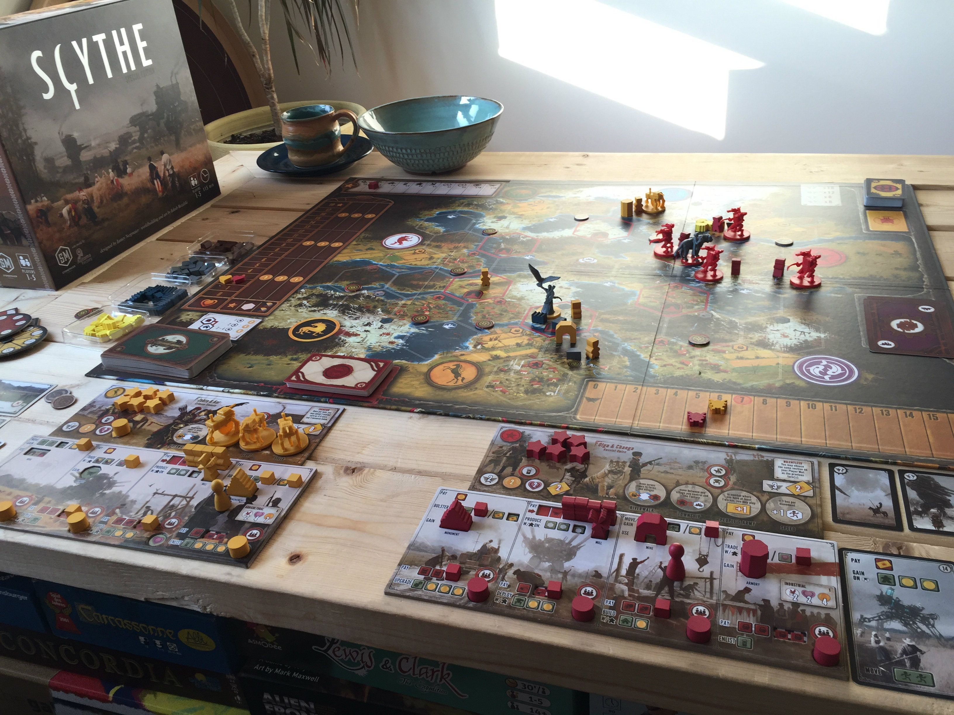 Pin by Ben Davie on Scythe (With images) Miniatures