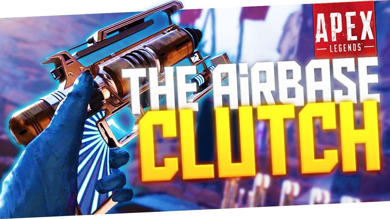 OUTRAGEOUS Airbase Clutch! PS4 Pro Apex Legends Gameplay