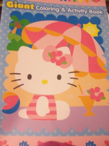 Hello Kitty Giant Coloring Color Activities Maze Game Coloring Books