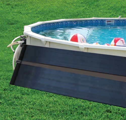 Sunquest 2 X20 Solar Swimming Pool Heater System With Diverter Kit Sunquest Solar Panels Are Designed For Bot Solar Pool Heater Pool Heater Pool Solar Panels