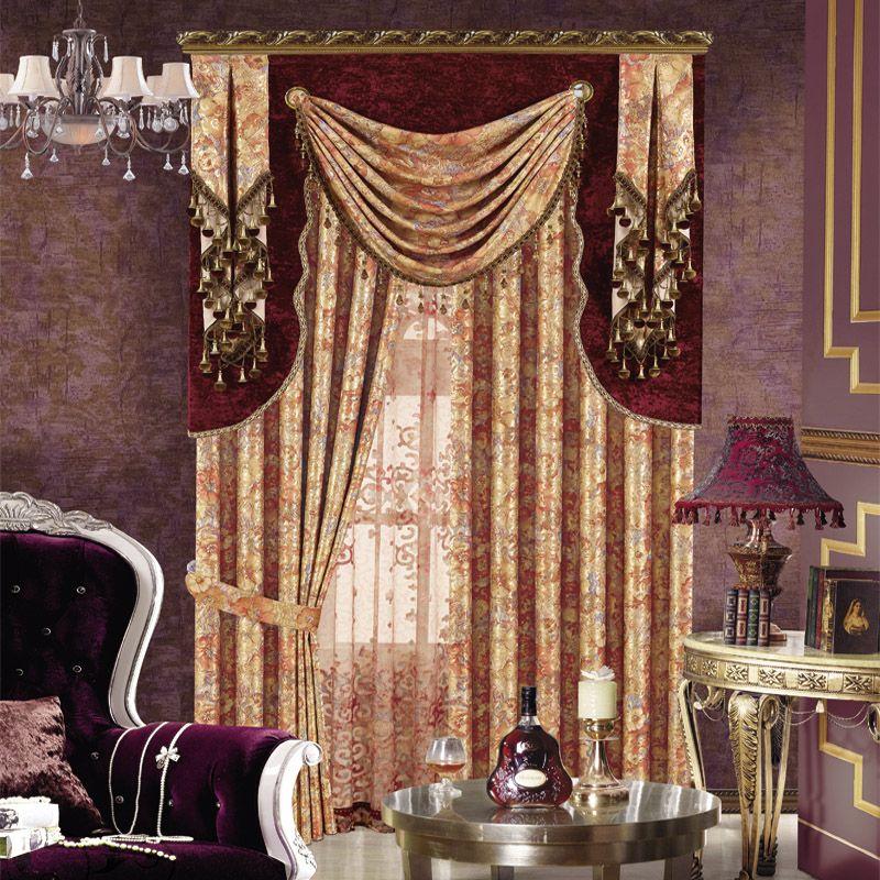 luxury window curtain - European Wave $120  (65% off)