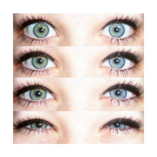 eyes green blue eyelashes heterochromia Heterochromia ...