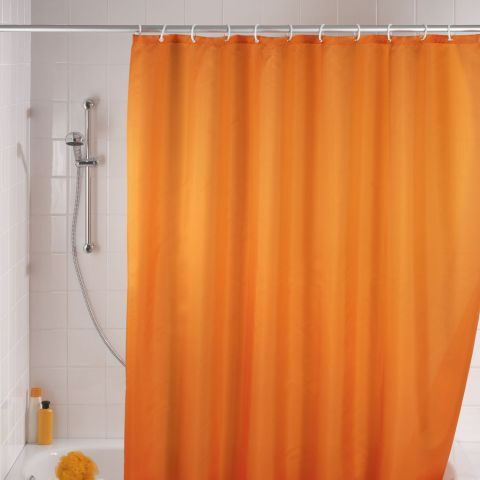 Shower Curtain In Tangerine Orange Http Www Worldstores Co Uk P
