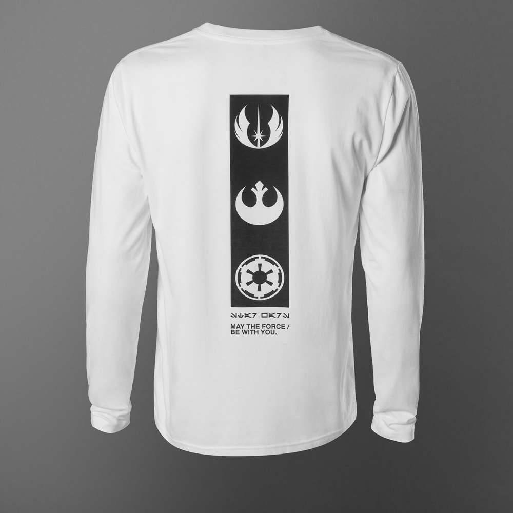 , Star Wars May The Force Be With You Long Sleeve Unisex T-Shirt – White, My Pop Star Kda Blog, My Pop Star Kda Blog