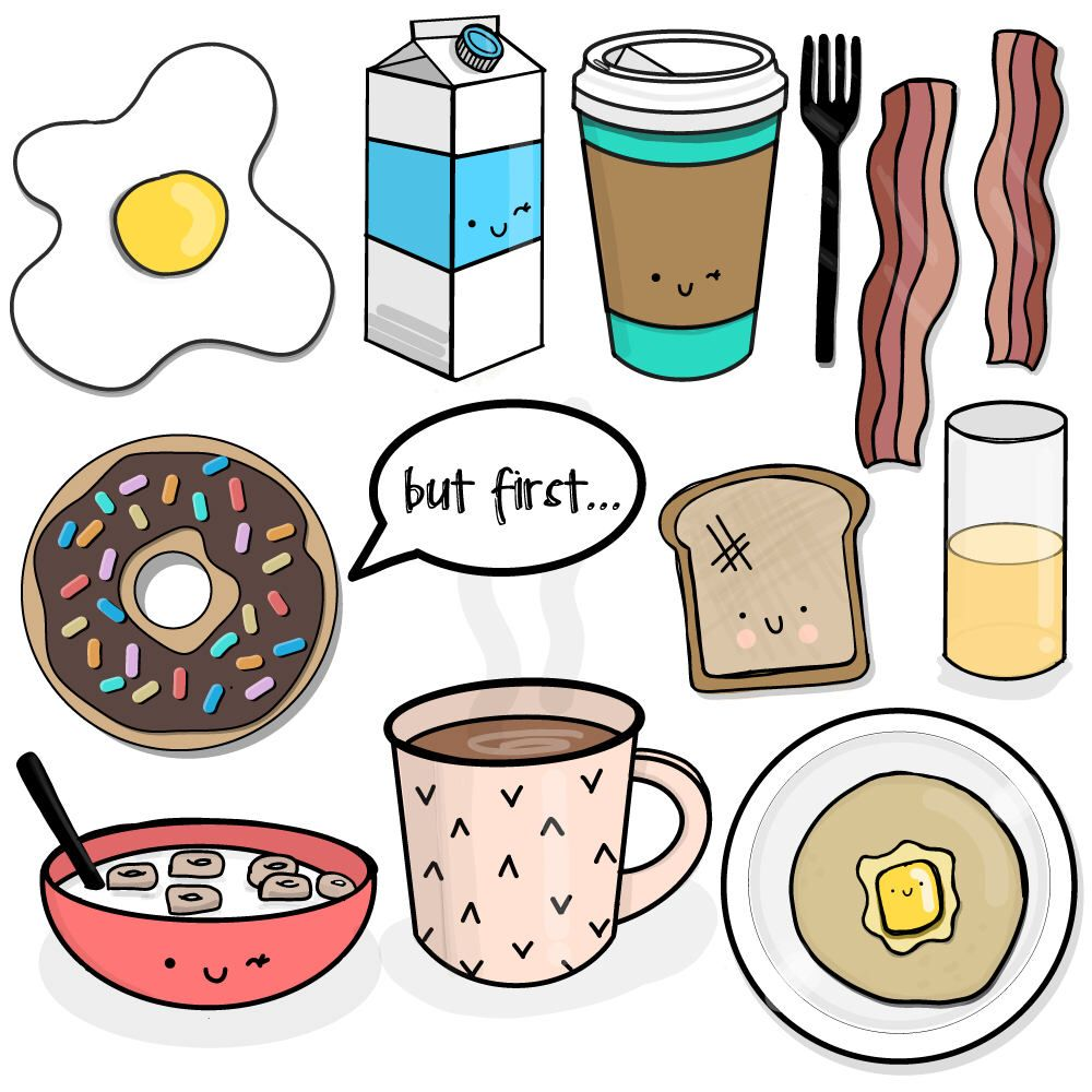 Breakfast Of Champions Clipart