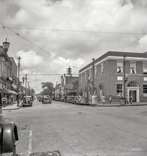 July 1939 The Main Street Fayetteville Street Of Siler City North Carolina Photo By Dorothea Lange For The Far Shorpy Historical Photos Siler City Photo