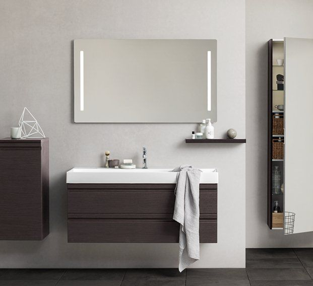 bathroom mirror units canto 1200 basin vanity unit with integrated handles 11105