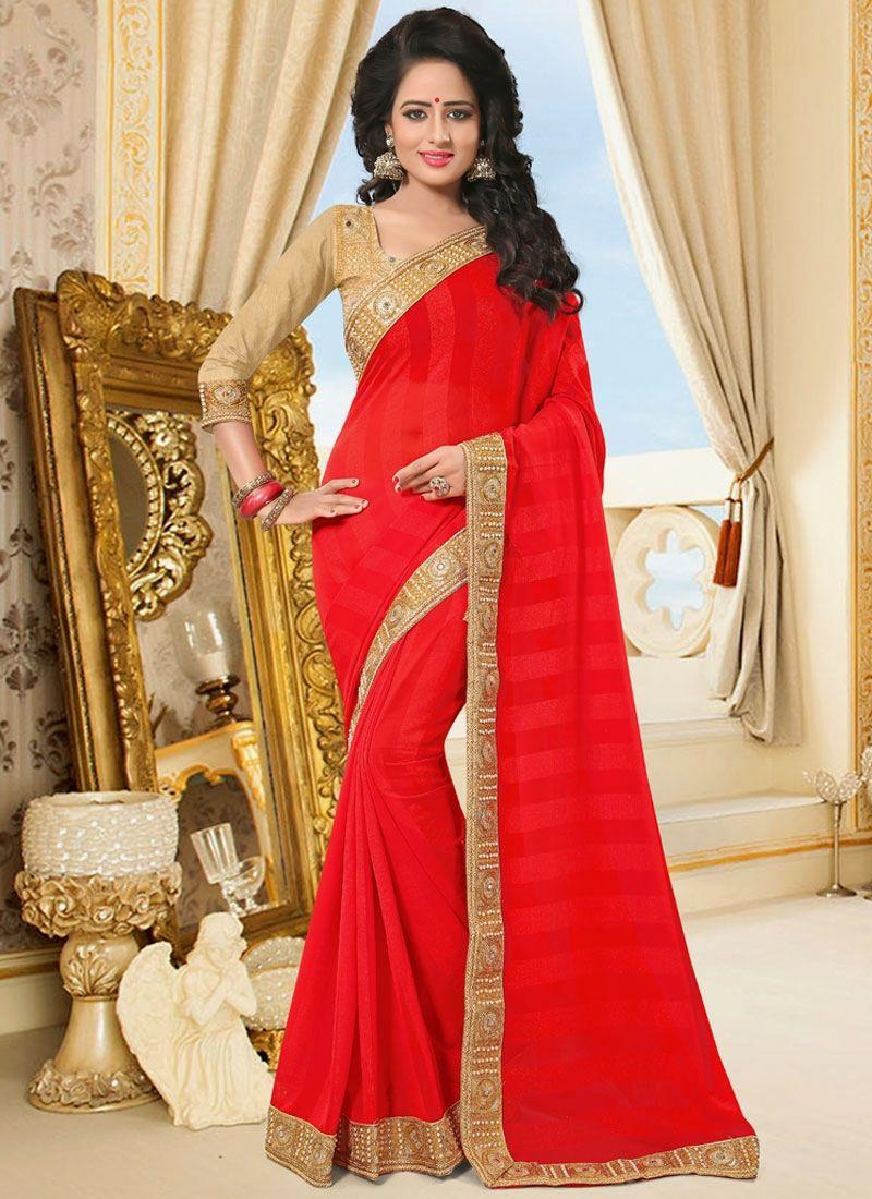 Modern saree models buy indian wedding sarees shop this magnetize faux chiffon classic