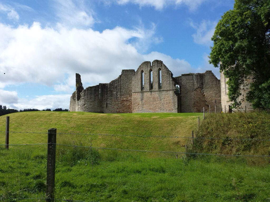 Kildrummy castle, Alford, Scotland