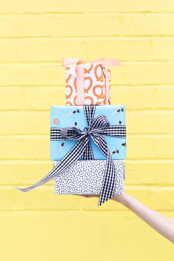 Six Awesome Birthday Gift Wrap Pairings | Pinterest | Geschenke ...