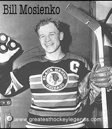 Bill Mosienko Was Born In 1921 In Winnipeg At 18 He Was Discovered By Chicago Blackhawks Player And Chicago Blackhawks Chicago Blackhawks Players Blackhawks