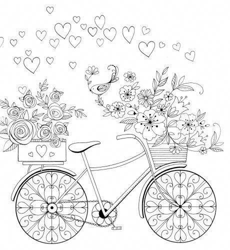 Biclicleta Do Amor Mykinglist Com Com Imagens Coloracao