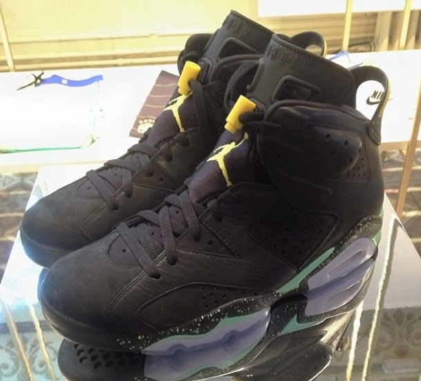 1209d0ee0c6b Air Jordan 6 Retro Brazil World Cup New Detailed Pictures ...