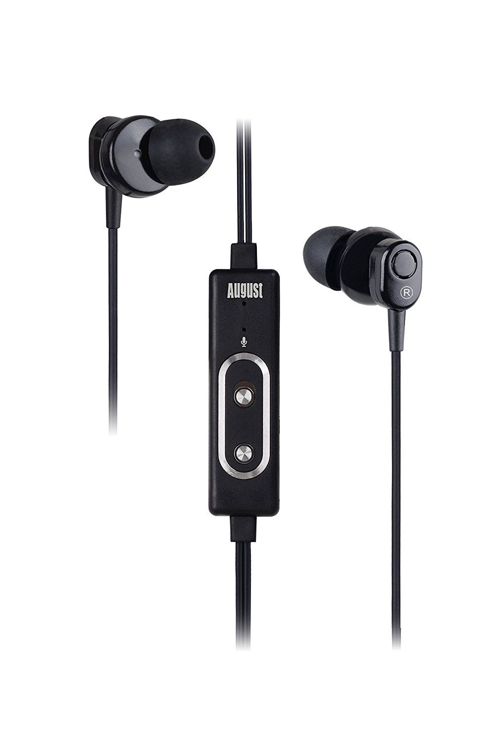 August Ep715 Active Noise Cancelling Earphones Hands Free Calling With Integrated Microphone Reduc Hifi Stereo Active Noise Cancellation Noise Cancelling