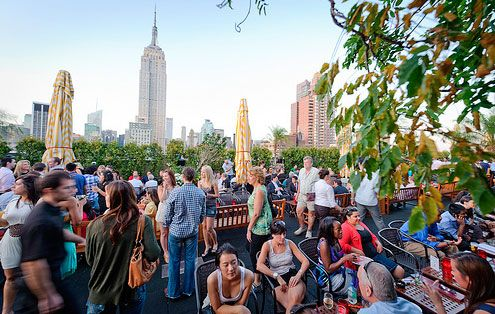 230 Fifth In Nyc Has A Rooftop Deck And Garden Plus A Fully