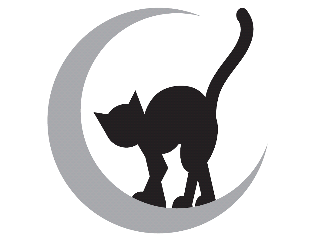 cat-moon-pumpkin-carving-template-stencil-canvass | Holidays ...