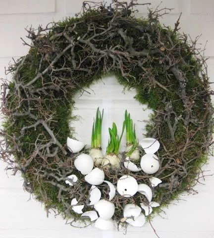 Photo of Top 12 Easter Wreath Designs From Nature – Cheap Easy Interior Party Decor Pro …
