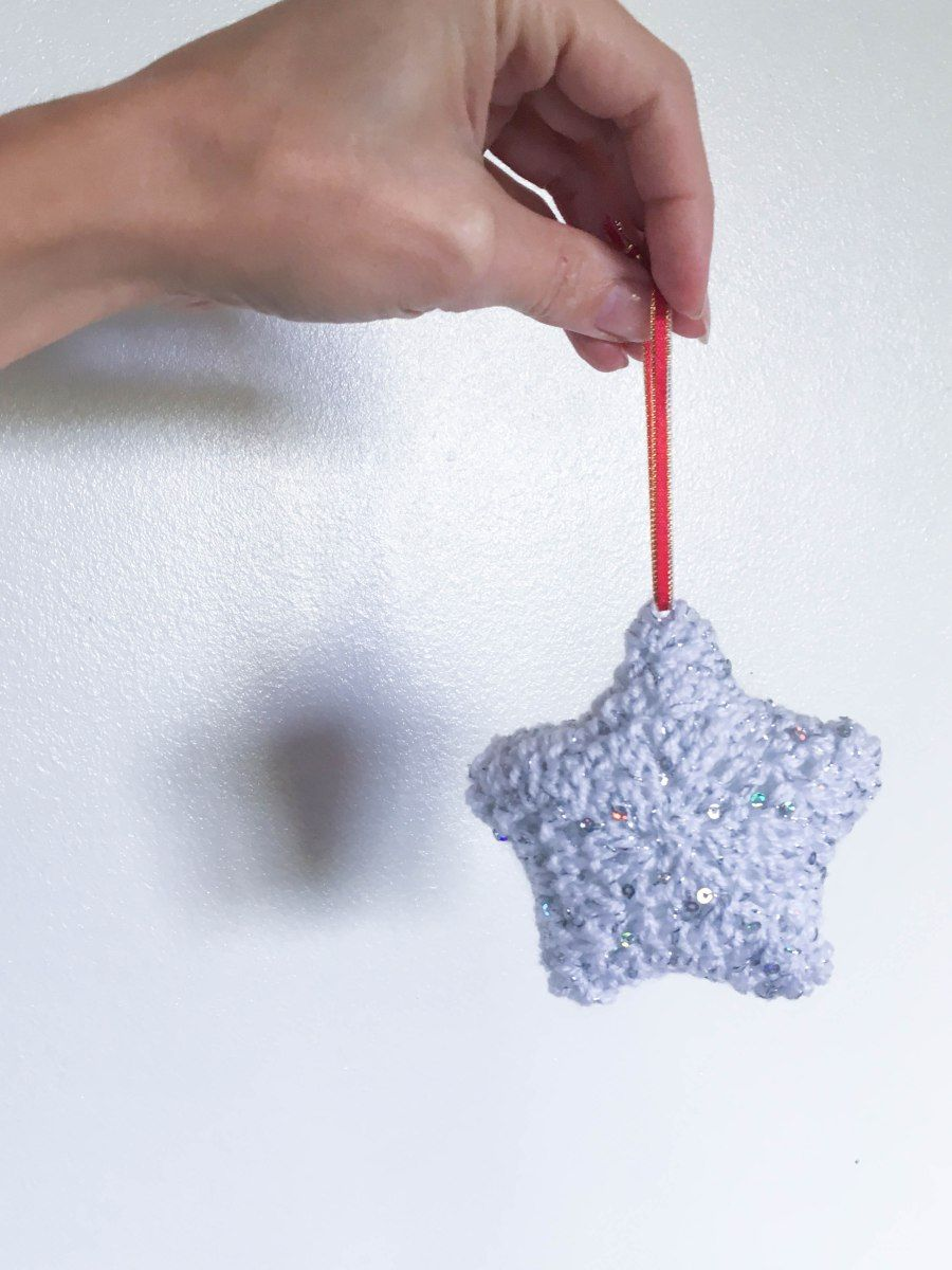 Twinkle Twinkle Star - Crochet Christmas Decoration