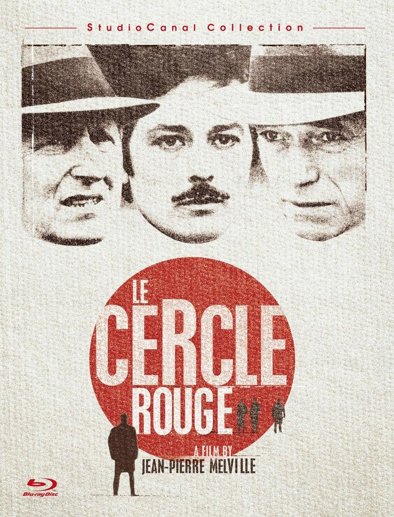 LE CERCLE ROUGE // Packshot Blu-Ray STUDIOCANAL COLLECTION