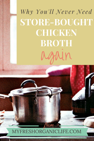 Cooking Non- Store-bought Chicken Broth