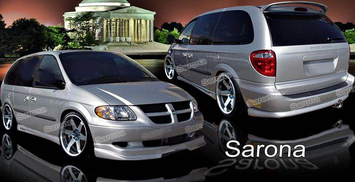 52 01 02 03 04 05 06 Custom Sarona Dodge Caravan Body Kit Custom Spoiler Front Rear Add Side Skirts On Lip Roof Trunk Grand Caravan Chrysler Voyager Chevy Van