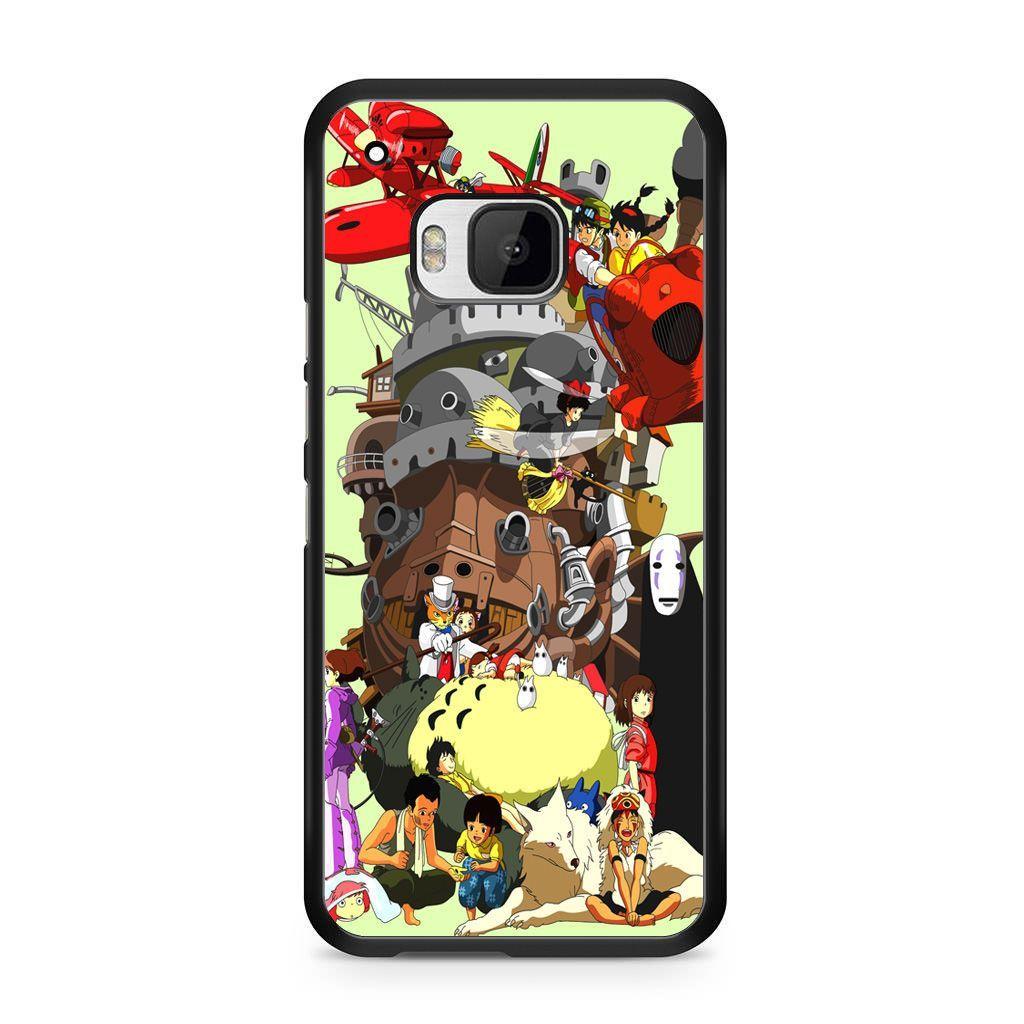 Studio Ghibli Collage HTC One M9 Case