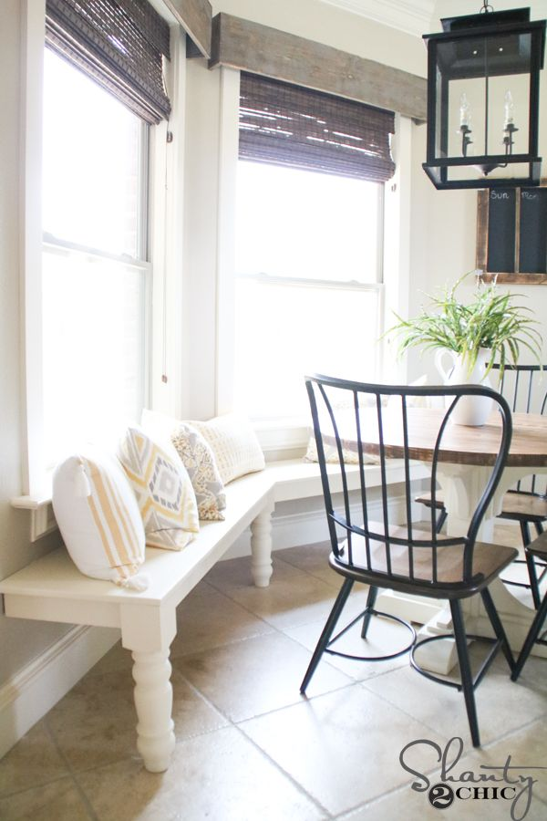 Excellent Diy Window Bench Breakfast Nook Kitchen Seating Kitchen Ocoug Best Dining Table And Chair Ideas Images Ocougorg