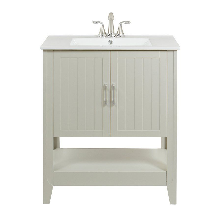 Oh This Is Also Pretty Simple Magick Woods 30 In Gray Westview Single Sink Bathroom Vanity With Top Lo Single Sink Bathroom Vanity Bathroom Vanity Vanity