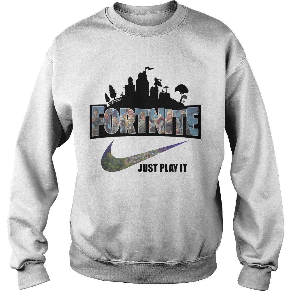 20a395c7b Fortnite Just play it Nike shirt #Sport Tees Trending #Images #Gift #shirt  #leopard